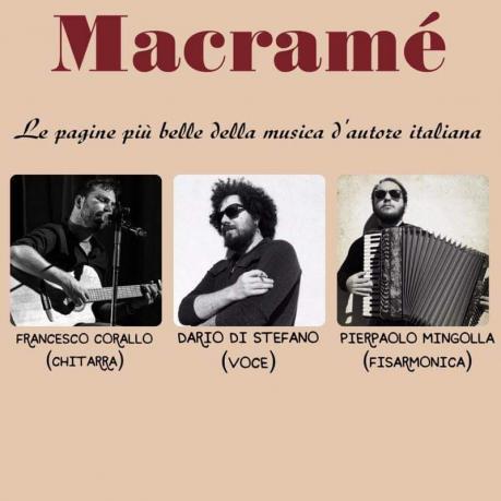 """MACRAME' in concerto """"VIAGGIO NELLA CANZONE D'AUTORE"""""""
