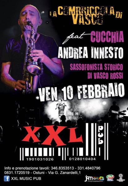 La Combriccola Di Vasco Feat Cucchia (Andrea Innesto) Live