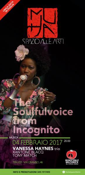 VANESSA HAYNES - The Soulfulvoice from Incognito - TRIO