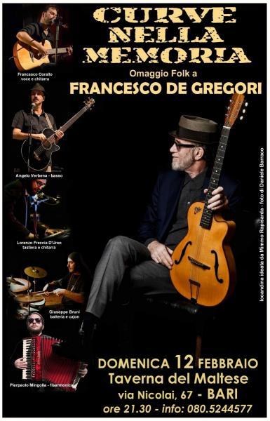 Curve Nella Memoria / Omaggio Folk a Francesco De Gregori