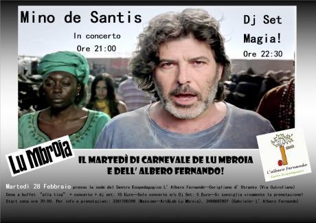 Mino De Santis + Magia Dj Set: Carnevale!