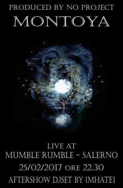 Montoya in concerto al Mumble Rumble di Salerno