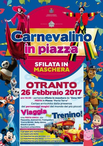 Carnevalino 2017 - Sfilata in Maschera Otranto