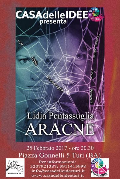 Aracne - Spettacolo Teatrale di Lidia Pentassuglia