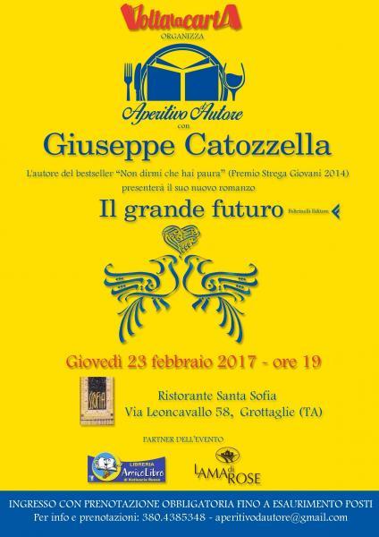 Aperitivo d'Autore con Giuseppe Catozzella
