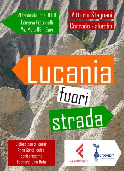 Lucania fuori strada a La Feltrinelli