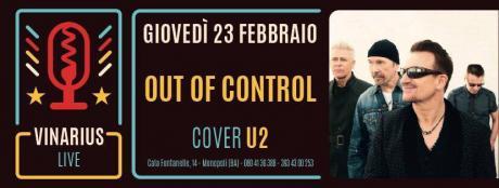 Out of Control - U2 tribute live al Vinarius