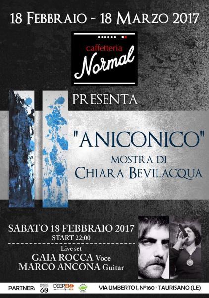 Aniconico - Mostra Personale di Chiara Bevilacqua