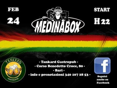 Medinabox at Tankard Pub