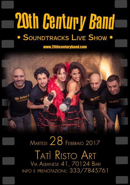 Martedi Grasso al Tatì con la 20th Century Band