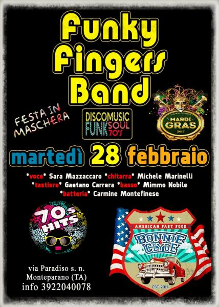Funky Fingers Band *DiscoMardiGrasLive*
