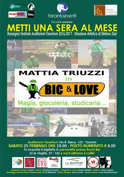 BIC & Love - Magia, giocoleria, studicaria