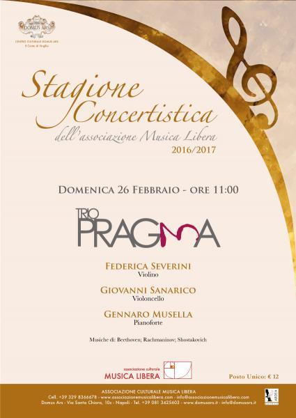 TRIO PRAGMA in concerto