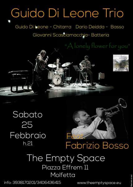 Empty Space Jazz presenta Guido Di Leone Trio & Fabrizio Bosso