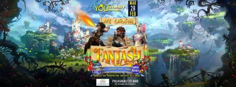 Martedì 28 Febbraio *Il Carnevale YOUniversity - Fantasy*Al Palaghiaccio*