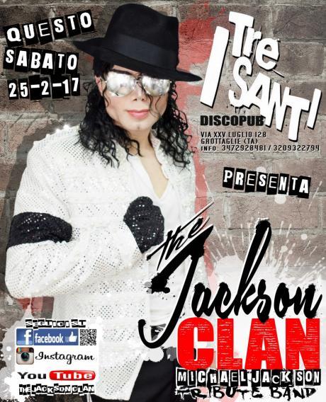 The Jackson Clan LIVE at I TRE SANTI-Grottaglie (TA)