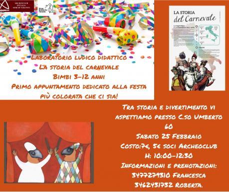 La Storia del Carnevale in Italia