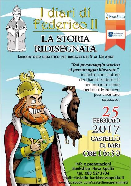 I Diari di Federico II. La storia ridisegnata