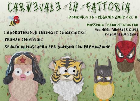 Carnevale in Fattoria