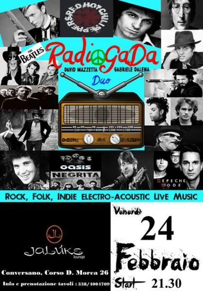 #RadioGaDa# Live at JALUKE, CONVERSANO