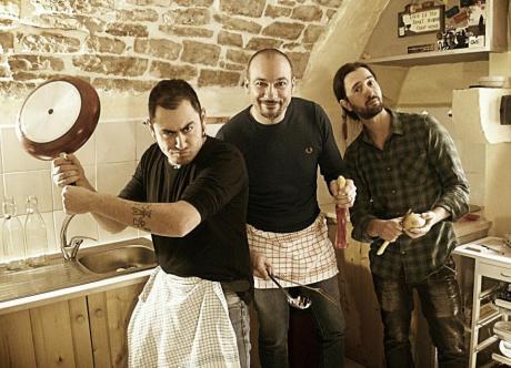The Big Fat trio live