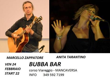 Anita Tarantino e Marcello Zappatore live al Bubba di Mancaversa