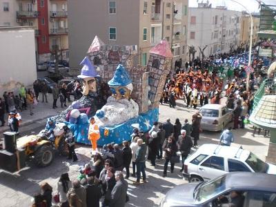 Arriva il gran finale del Carnevale di Castellaneta 2017 martedì 28 febbraio dopo l'annullamento della seconda sfilata