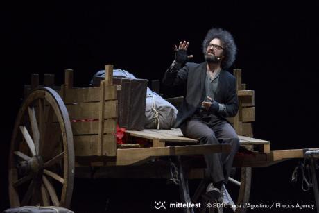 Il Secondo Figlio di Dio. Vita, Morte e Miracoli di David Lazzaretti - Stagione 2016/17 Teatro Curci di Barletta