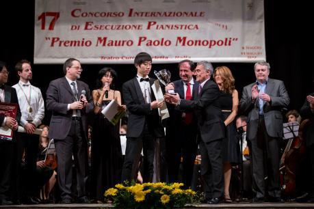 Premio Mauro Paolo Monopoli - Stagione 2016/17 Teatro Curci di Barletta