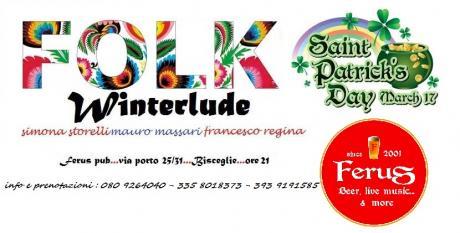 """S. PATRIK's Day con i """" WINTERLUDE """" - IRISH FOLK TRIO"""