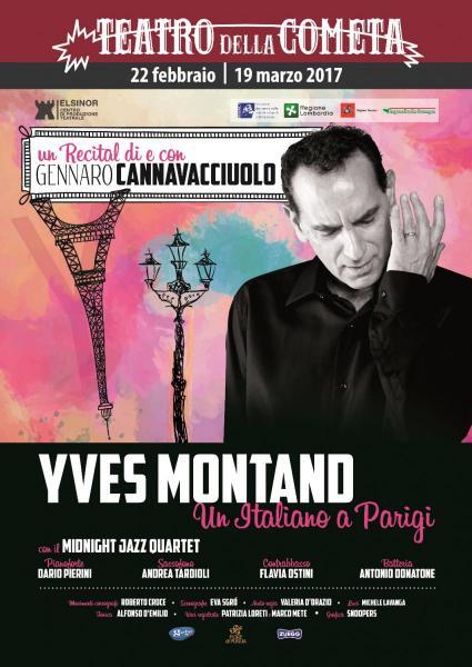 Yves Montand - un italiano a Parigi di Gennaro Cannavacciuolo
