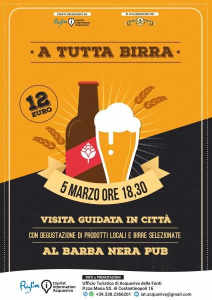 5 Marzo - A Tutta Birra: dalla mostra su Dalì al Barba Nera Pub