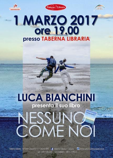 Luca Bianchini a Taberna Libraria di Latiano