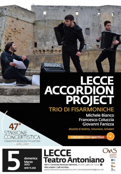 Lecce Accordion Project - 5° Concerto con Aperitivo