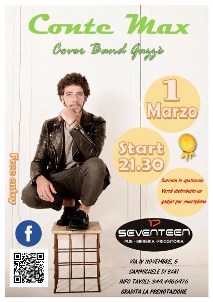 Conte Max Cover Band Gazzè Live