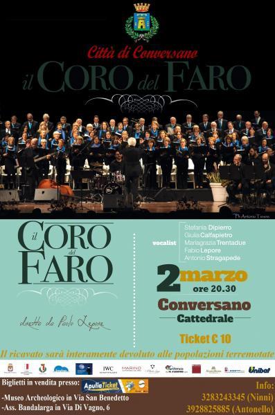 Coro del faro - Concerto di beneficenza