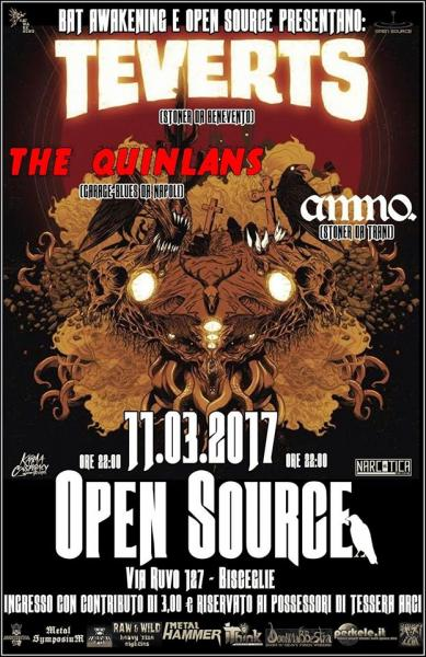 Teverts \\ The Quinlans \\ Ammo   LIVE