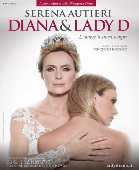 "Serena Autieri è ""DIANA & LADY D."""