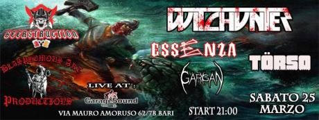 Witchunter, Essenza and guest live