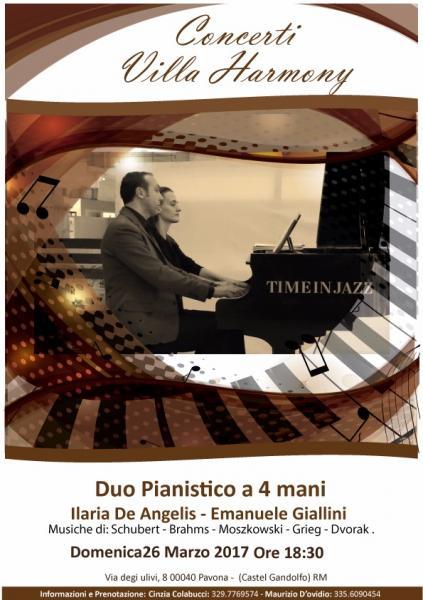 Concerto del Duo pianistico Ilaria De Angelis-Emanuele Giallini