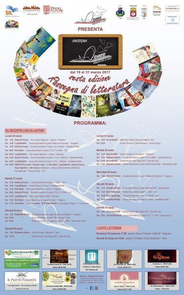 VI edizione rassegna Didiario – Suggeritori di libri