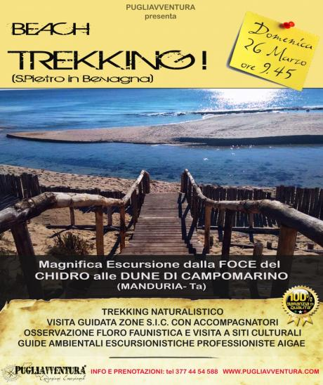 "Beach Trekking ""Foce del Chidro"""