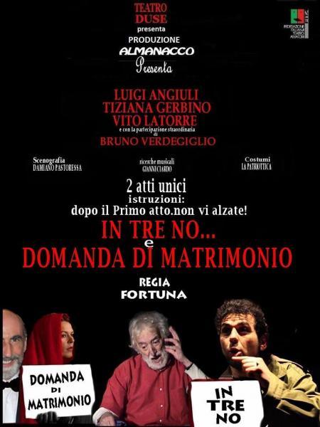 """""""in Tre...no"""" & """"una Domanda di Matrimonio"""""""