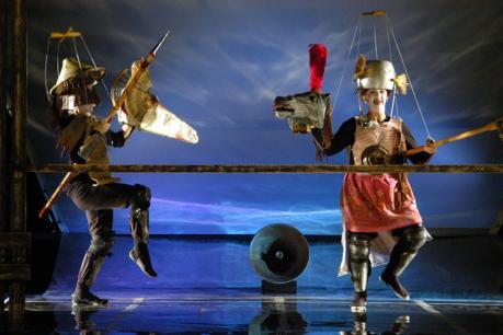 Paladini di Francia dei Cantieri Teatrali Koreja a Ruffano per la rassegna teatrale Kairòs, Ruffano sabato 25 marzo ore 20:00