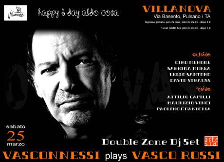 Vasconnessi plays Vasco Rossi + Double Zone Dj Set