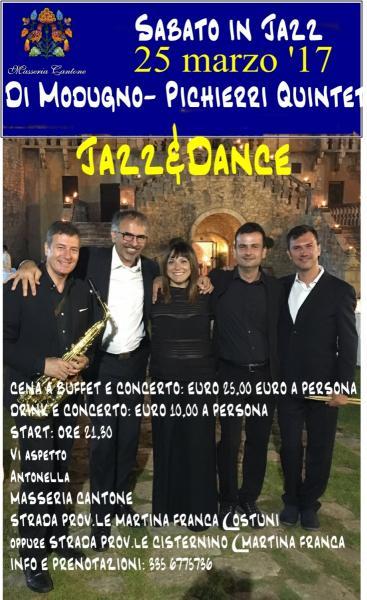 Di Modugno - Pichierri Quintet: Jazz & Dance