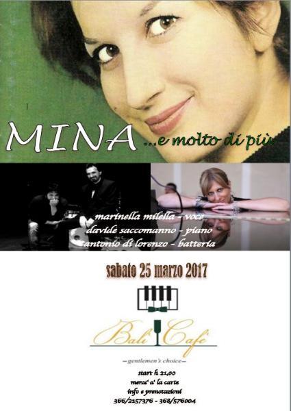 Mina...e molto di più! Live concert