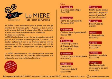 Nuovo appuntamento con la rassegna 'Lù Mière Calicidicinema', arriva al Must di Lecce il film 'Butch Cassidy'.
