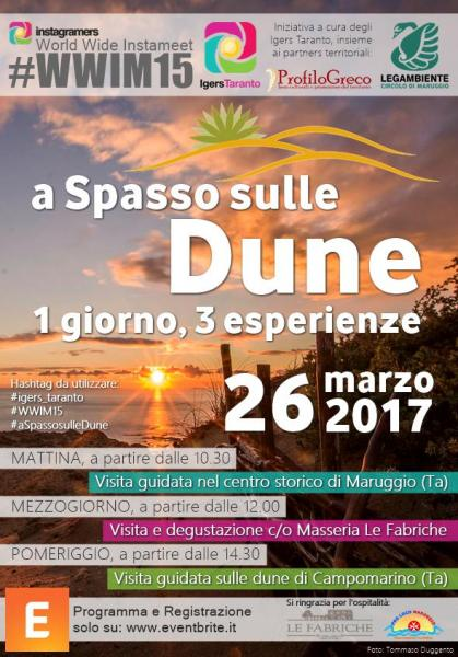 World Wide Instameet - A Spasso sulle Dune