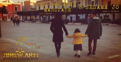 Le cronache marziane & Sesamh Jo Live